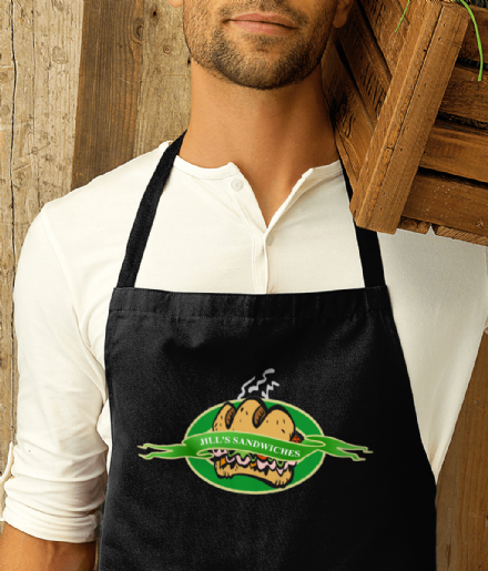 Premier Cotton Apron With Dead Rising Jills Sandwiches Design